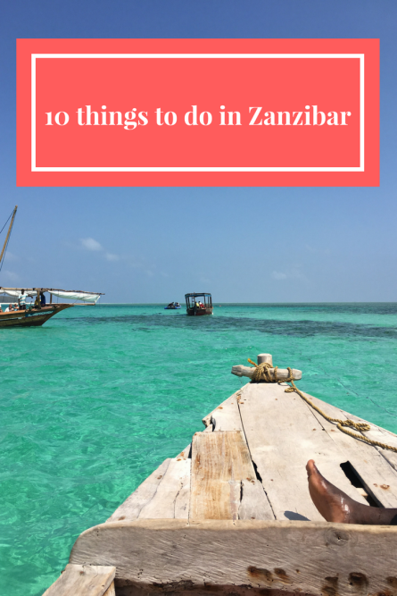 10 things to do in Zanzibar
