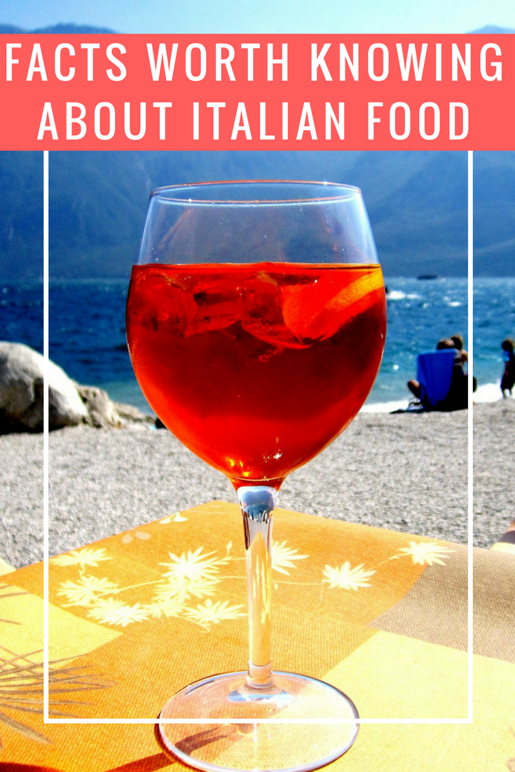 Facts worth knowing about Italian food