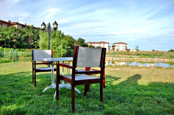 Kaliakria Resort garden bistro